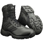 MAGNUM PANTHER 8.0 SIDE-ZIP WATERPROOF ARMY BOOTS MILITARY PATROL FOOTWEAR BLACK