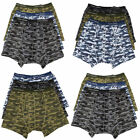 Multi Pack Mens Underwear Camouflage Boxer Shorts M L XL XXL Free UK Post