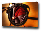 LARGE THROUGH THE LENS RED LACE HOT BOTTOM CANVAS PRINT EZ0680