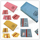 Soft Genuine Leather Ladies Womens Wallet Long Purse Bag Card Holder Case New