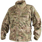 HELIKON TACTICAL MENS SOFT SHELL Ver. II WINDPROOF HOODED CAMO JACKET CAMOGROM