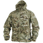 HELIKON PATRIOT TACTICAL HOODED JACKET DOUBLE WARM POLAR HUNTING FLEECE MTP CAMO