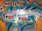 #5 AFW 12 PACK TOOTH PROOF STAINLESS STEEL LEADER WIRE 44 LB 30' x 12