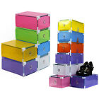 New Drawer Container Women's Foldable Shoes Organizer Storage Box Case Stackable
