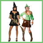WOMENS WIZARD OF OZ  FANCY DRESS COSTUMES