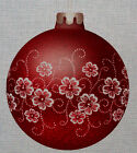 "Needlepoint canvas ""Christmas Ornament Red Blossom"""