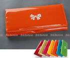1PC Candy Color Bow Patent Leather Women Girl Wallet Purse Coin Bag Card Holder