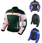Women's Gift Motorcycle Waterproof Protected Armor Cell Phone Pockets Jacket