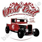 T-Shirt #551 WEST END , HOT ROD V8 Hot Rod Rockabilly 50er US-Car Oldtimer