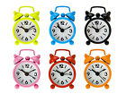 "Wanted X-Small Alarm Clock  2"" Diameter -- Choose Color!"