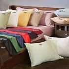 Sale 800TC Soft 2PC Pillow case/Sham Stripe 100%Egypt Cotton Select Size & Color