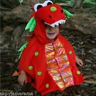 Boys Girls Toddler Baby 'Blaze' Dragon Fancy Dress Up Costume Outfit