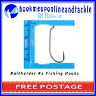 100 x Bait Holder Hooks Chemically Sharpened in Different Sizes
