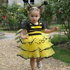 DLX Bumblebee fancy dress up BNWT All Sizes Girls Bee Costume Tutu Boppers Wings