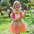 Girls Toddler Childrens Peach Melba Fairy Princess Fancy Dress Costume Outfit