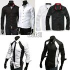 Collection mens Button-Down dress shirt Suits Slim Fit Formal Dress Shirt Lot BF