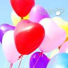 LiNg's Solid Latex Heart Shaped Balloons Wedding Party Helium Love Decoration