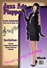 1920's Flapper Complete Womens Costume - One Size (AU 8 - 12)