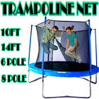 Kids Trampoline Enclosure Safety Net Replacement Children Cover Spring Surround