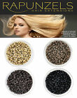 NANO BEADS FOR NANO TIP HAIR EXTENSIONS, BLONDE, LIGHT BROWN, DARK BROWN, BLACK