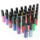 12/24/36 Color Nail Polish Opaque/Glitter/Pearly Fine Liner Brush Line Paint Pen