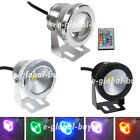 10W LED Underwater Pool Garden Lights Waterproof IP68 DC12V RGB/Warm/Day White E