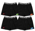 4 X Pack Frank and Beans Boxer Shorts S M L XL XXL XXL S Mens Underwear