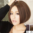New Bob Sexy Fashion Womens Short Straight Hair Full Wigs Cosplay Party Brown