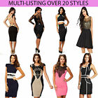 Women's Sizes 8 10 12 14 UK Celeb Inspired Various Styles Ladies Dress Celebrity