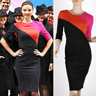 Fashion Sexy Bodycon Dress Shift Pencil Wiggle Formal Work Business Office Party