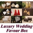 Luxury Wedding Party Favour Gift Sweet Boxes Bags Many Design Heart Swan Pillow