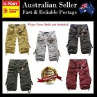 Mens Cargo Shorts Combat Camo Military Casual Board Shorts - Superb Quality