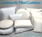 Cushion Inners Inserts Pads Scatters Fillers Hollowfibre Microfibe Duck Feather
