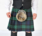 New Black Watch 5 YD wool Kilt Made in Scotland £179 Sale offer £139 NOW £119