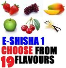 E-liquid E-juice E-shisha 10 ml Pen Refill Hookah Oil Rainbow New Flavours
