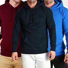 Mens Designer Quality Plain THICK Fleece Hoody! BASIC Hoodies & Jumpers Warm!