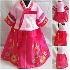 Halloween Hot Hanbok Floral Baby Girls Dress Fancy Costume Outfit Size 1-2-3-4