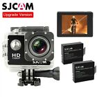 Original SJCAM SJ4000 HD 1080P Cam Sports Action Waterproof Camera 2x Batteries
