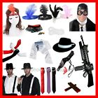 1920's MENS & WOMENS GANGSTER FLAPPER FANCY DRESS COSTUME ACCESSORIES