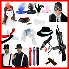 MEN'S 1920's & 30's GANGSTER  and AVIATOR  FANCY DRESS COSTUME ACCESSORIES