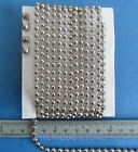 #10 Nickel Chain For Vertical Blinds and Roller Shades Free Connector 6 - 30 ft