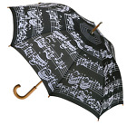 CLIFTON Umbrella - Music Print Manual Long Umbrella - Choose design.