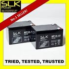 2 (12volt) 12ah 24 33 36 40 50ah 55 75AH MOBILITY SCOOTER - DEEP CYCLE BATTERIES