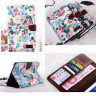 """Flower Leather Case Stand Cover For Samsung Galaxy Tab 3 7.0 7"""" Lite T110 T111"""