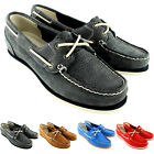 Womens Timberland Classic Boat Unlined Leather Lace Up Flat Shoes UK 3-8