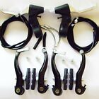 Mountain Bike Complete brake and levers / + Cables Set (SILVER OR BLACK)