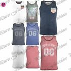 Mens Casual Brave Soul Summer Designer Sleeveless Muscle Vest T Shirt Tank Top