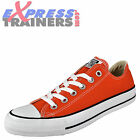 Converse Womens Junior Uni Chuck Taylor All Star Lo Plimsoll Trainers AUTHENTIC