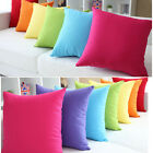 Pretty Fire-sale Simple Micro Suede Pillow Cover Case Cushion Home Garden Decor