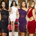 Womens Sexy Cocktail Club Bandage Skirt Body-con Evening Slim Fit Party Clubwear
